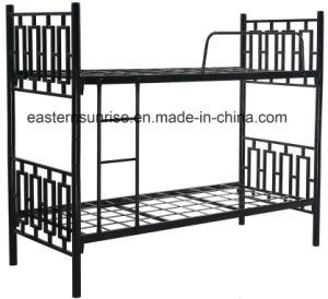 Steel Metal Dormitory Use Seperatly Metal Bunk Beds pictures & photos