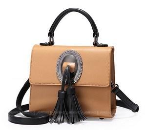 Lady′s Fashionable Tassels Shoulder Bag (LDO-01670) pictures & photos