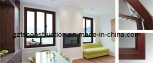 Aluminum Tilt and Turn Windows with Double Glazed pictures & photos
