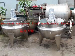 Stainless Steel Jacketed Cooling Vessel (50L~600L customized) pictures & photos