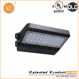 UL Dlc IP65 Outdoor 20W Wall Pack LED Lamps with 5 Years Warranty