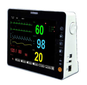 8 Inch TFT Display Multi-Parameter Patient Monitor pictures & photos