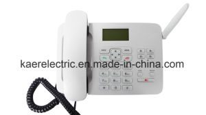 Call Center TF Card Record GSM Desktop Phone pictures & photos
