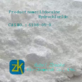 Lidocaine Hydrochloride Local Anesthetic Powder 99% HCl pictures & photos