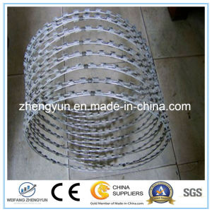 China Supplier Manufacture Razor Blade Barbed Wire pictures & photos