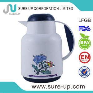 Flower Panting Middle East Arabic Plastic Flask Coffee Tea Jug (JGHL) pictures & photos