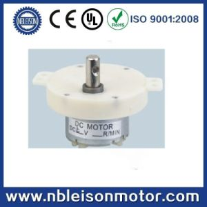4.5V 6V 12V DC Plastic Gear Motor for DC Fan pictures & photos