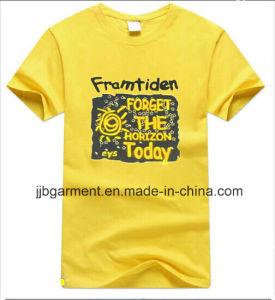 New Design Short Sleeves Men Printing T-Shirt
