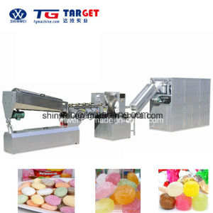 Hard Candy Lollipop Die-Formed (Traditional) Processing Line pictures & photos
