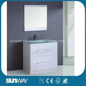 Classic Australia Style Bathroom Vanity with Mirror pictures & photos