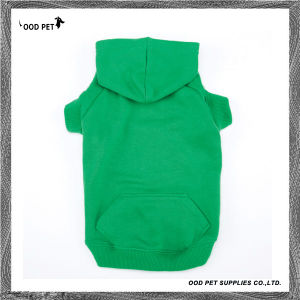Blank Dog Shirts Polyester&Cotton Dog Hoodies Sph6001-13 pictures & photos