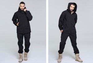 Fashion Wild Windproof Breathable Plain Coat Clothes Good Quality Military Jacket pictures & photos