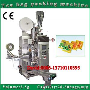 Automatic Filter Tea Bag Packing Machine with Outer Envelope pictures & photos