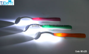 Dental Plastic Handle Anti-Fog LED Intraoral Mouth Mirror (M3-LED) pictures & photos