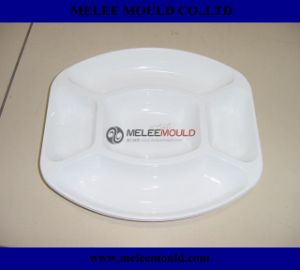 Melee Plastic Canteen Dining Room Staff Dinner Plate Mould pictures & photos