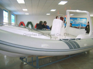 Fiberglass Hull Yacht Low Prices Ce Rib580 pictures & photos