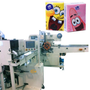 Pocket Tissues Soft Tissue Towel Wrapping Packing Machine pictures & photos