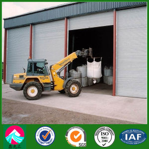 Light Steel Structure Garage, Warehouse with Rolling up Door (XGZ-SSB082) pictures & photos