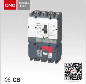 MCCB Ycm3le Earth Leakage Circuit Breaker pictures & photos