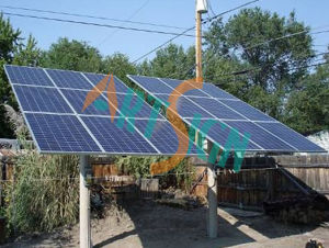 Ground Solar Mounting System-Large Pole -2 pictures & photos