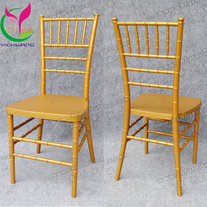 Gold Acrylic Chiavari Wedding Chair (YC-A60-02) pictures & photos