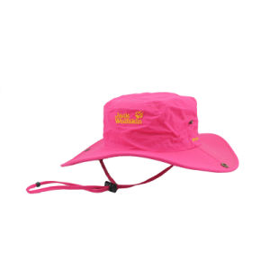 Soft Textile Sport UV-Protection Floppy Hat with String pictures & photos
