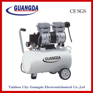 CE SGS 24L 580W Oil Free Air Compressor (GDG24) pictures & photos