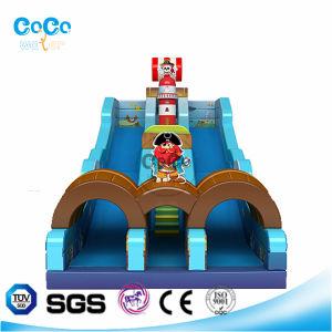 Fashion Design Coco Inflatable Corsair Theme Slide LG9022
