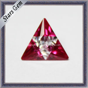 New Fashion Triangle Synthetic Diamonds Zirconia pictures & photos
