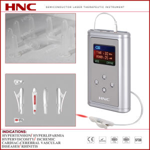 Hnc Factory Made Rhinitis and Nasal Polyps Laser Therapy Device (allergic/chronic/acute rhinitis) pictures & photos