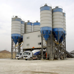 Concrete Batching Plant with High Production Hzs180 pictures & photos