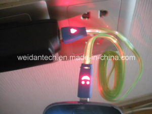LED Shining Micro USB Cable pictures & photos