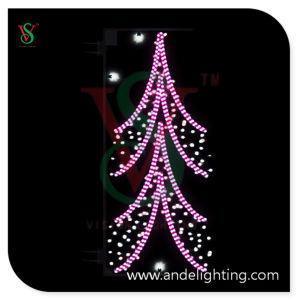 Special Design Christmas Tree Light Pole 2D Motif Light pictures & photos