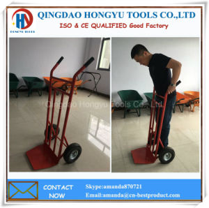 Hand Truck Hand Cart Hand Trolley pictures & photos