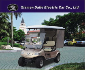 Electric Golf Dining Cart with Insulation Cargo (DEL3022GFP) pictures & photos
