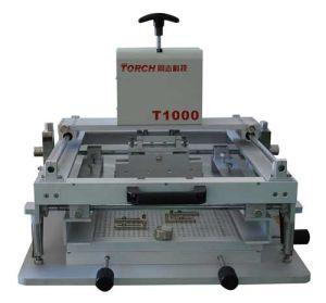 Manual Desk Solder Paste Stencil Printer pictures & photos