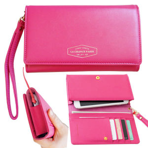 Wristlet Phone Wallet Fashion Mobile Phone Wallet for Lady pictures & photos