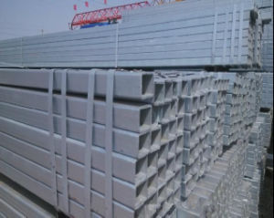 ASTM A252 Hot DIP Gavanized Steel Tube/Square Galvanized Steel Pipe pictures & photos