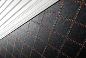 Plywood Stained to Wooden Color Wardrobes (zy-024) pictures & photos