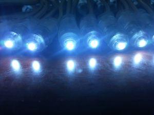 9mm 12mm 5V Single Color Waterproof Pixel LED DOT String Light pictures & photos