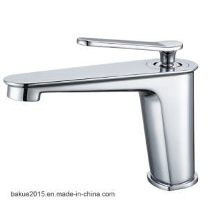Sanitary Ware Brass Bathroom Faucet in Chrome Plated for Promotion pictures & photos