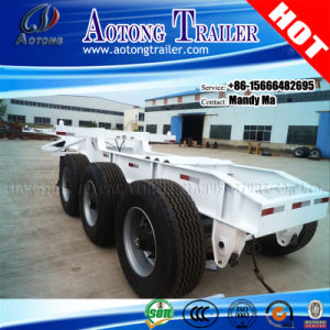 40FT Container Superlink/Interlink Semi Chassis Dolly Trailer pictures & photos