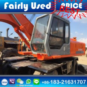 Used Hitachi Ex160wd Tyre Excavator of Hitachi Ex160wd Wheel Excavator