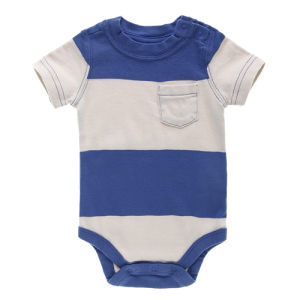 Soft Handfeel 100% Cotton Infant Clothing/Baby Romper pictures & photos