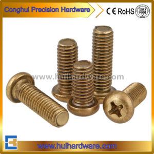 Brass Pan Head Machine Screws / Pan Head Phillips Brass Machine Screws pictures & photos