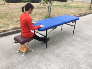Iron Portable Massage Table Mt-001 pictures & photos