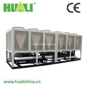 Semi-Hermetic Compressor Air Cooled Screw Chiller R410 Refrigerant pictures & photos