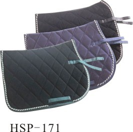 All Purpose Velvet Horse Saddle Pad with Piping (HSP-171)
