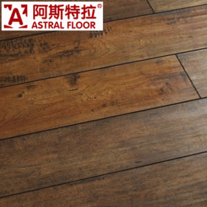 HDF 12mm Wooden Pressed Bevel Embossed Laminate Flooring pictures & photos