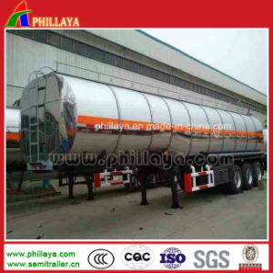 Fuel Oil Diesel Tank Truck Semi Trailer Aluminum Alloy Tanker pictures & photos